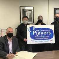 Mayor Donald R. Grebien Designates May 9 as Community Players Day Photo