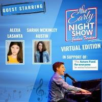 Alexa Lasanta and Sarah McKinley Austin Stop by Joshua Turchin's THE EARLY NIGHT SHOW Photo