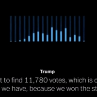 VIDEO: Listen to Trump Plead For 11,780 Votes Hilariously Paired with 'Seasons of Lov Photo