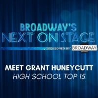 Meet the Next on Stage Top 15 Contestants - Grant Huneycutt