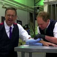 VIDEO: Penn & Teller Perform Tattoo Magic on THE LATE LATE SHOW Photo