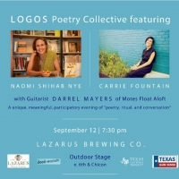 LOGOS Poetry Collective Announces Event with Naomi Shihab Nye and Carrie Fountain