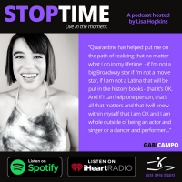 New Podcast STOPTIME: Live in the Moment Features Conversations With Broadway Perform Photo