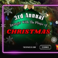 Third Annual SWINGIN' WITH THE MUSIC OF CHRISTMAS Comes to The Space, Las Vegas Photo