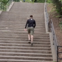 BWW Exclusive: Climb Some Stairs and Stay Fit with Mark Fisher Fitness Trainer Harold Photo