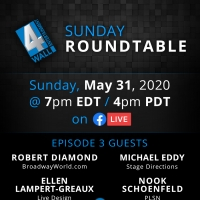 Tune in to This Week's 4Wall Sunday Roundtable Featuring Robert Diamond, Ellen Lampert-Greaux & More