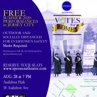 Speranza Theatre Company Presents VOTES FOR WOMEN Socially Distanced Performances In  Photo