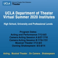 Register for UCLA Virtual Summer Institutes 2020 Special Offer