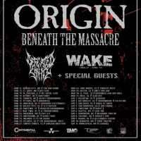 Beneath The Massacre Join Origin on Tour Photo
