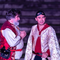 Silvan Ross talks about his role in HENRY IV PART ONE at Queensland Shakespeare Ense Photo