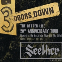 3 Doors Down Announce 'The Better Life 20th Anniversary Tour' Photo
