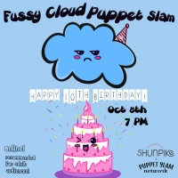Fussy Cloud Puppet Slam Celebrates 10th Birthday Photo