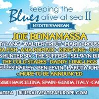 Joe Bonamassa Announces 10 New Acts for 2nd Annual Mediterranean Cruise