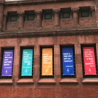 Chesapeake Shakespeare Updates Facade With Inspiring Quotes to Connect With Neighbors Photo