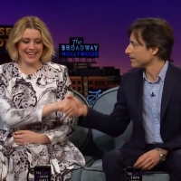 VIDEO: Greta Gerwig & Noah Baumbach Talk About Being Oscars Rivals on THE LATE LATE SHOW WITH JAMES CORDEN