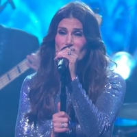 VIDEO: Idina Menzel Performs 'Christmas Just Ain't Christmas' on THE LATE SHOW