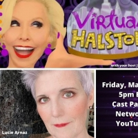 BWW Previews: March 26th VIRTUAL HALSTON Scores Big With Guest Lucie Arnaz Photo