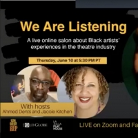 VIDEO: San Diego REP Hosts WE ARE LISTENING: A Live Salon About Black Artists' Experi Photo