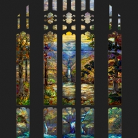 Art Institute Of Chicago's Tiffany Stained Glass Window On View May 27 Photo