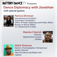 DANCE DIPLOMACY WITH JONATHAN Welcomes Patricia Ehrnman and More This Week Photo