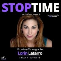 LISTEN: Lorin Latarro Talks Career, Motherhood & More on STOPTIME:LIVE IN THE MOMENT Photo