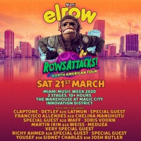 elrow Reveals Initial Line Up for Miami Music Week