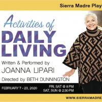 ACTIVITIES OF DAILY LIVING Comes to Sierra Madre Playhouse