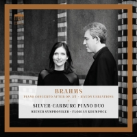 World Premiere Recording Of 'New' Brahms Concerto Features The Silver-Garburg Piano D Photo