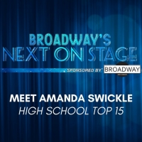 Meet the Next on Stage Top 15 Contestants - Amanda Swickle
