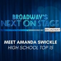 Meet the Next on Stage Top 15 Contestants - Amanda Swickle Photo