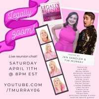 LEGALLY BLONDE: THE SEARCH FOR ELLE WOODS Cast Including Lena Hall, Lauren Zakrin & M Photo