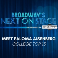 Meet the Next on Stage Top 15 Contestants - Paloma Aisenberg Photo