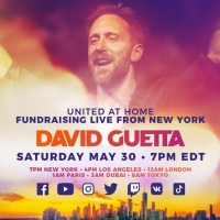 David Guetta To Host Second 'United At Home' Charity Livestream Event  Photo