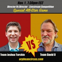 Orphean Circus Presents DIRECTOR VS DIRECTOR: A New, Livestreaming, Interactive Game Photo