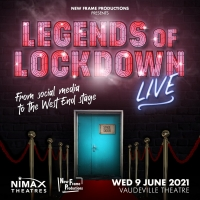 Legends of Lockdown LIVE! Will Be Performed at the Vaudeville Theatre on 9 June Photo