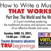 Theater Resources Unlimited Presents 'How To Write A Musical That Works Part One: The Photo