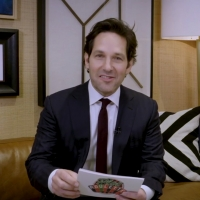 VIDEO: Paul Rudd Plays Plot Roulette on THE LATE SHOW WITH STEPHEN COLBERT
