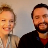 VIDEO: Amanda Jane Cooper and Husband Andrew Bell Talk Getting Married Over Zoom Photo