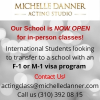 The Michelle Danner Acting Studio Re-Opens with In-Person Classes Photo