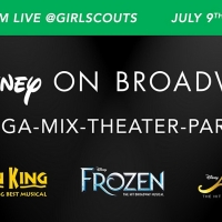 Girl Scouts Team Up With Disney on Broadway For Theater Workshop, MEGA-MIX-THEATER-PARTY Photo