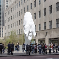 Outdoor Sculpture by Jaume Plensa to Change the Face of U-M Museum of Art Photo