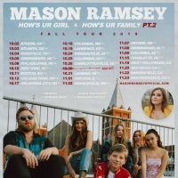 Mason Ramsey Announces Support for Headlining Tour 'How's Ur Girl & How's Ur Family Pt. 2'