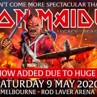 Iron Maiden Announces One Additional Show