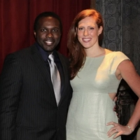 Joshua Henry and His Wife Cathryn Stringer Welcome Twins Photo