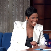 VIDEO: Tamron Hall Talks About Interviewing Oprah on THE LATE SHOW WITH STEPHEN COLBERT
