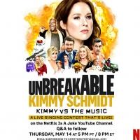 Netflix Announces UNBREAKABLE KIMMY SCHMIDT Live Fan Singing Contest Photo