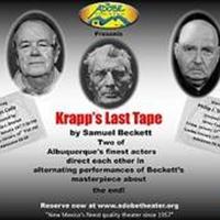 The Adobe Theater Next Presents Samuel Beckett's KRAPP'S LAST TAPE Photo
