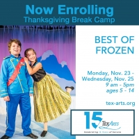 TexARTS Announces Upcoming School Holiday Camps Photo