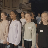 VIDEO: The Cast of MATILDA Performs 'When I Grow Up' in Rehearsals; Booking Extension Video