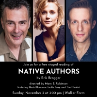Weston Playhouse New Works Program To Present NATIVE AUTHORS